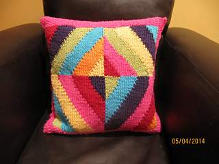 Ravelry: Rainbow Cushion pattern by Zo? Mellor