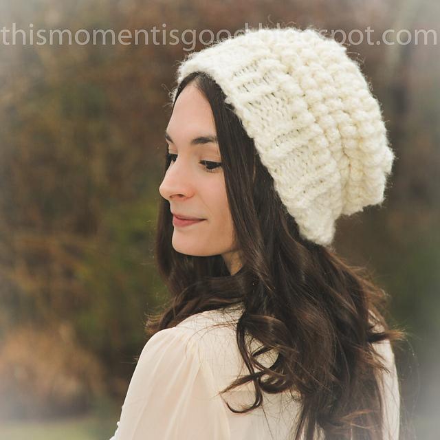 Ravelry Ladies Vintage Puff Stitch Hat Pattern By Nicole F Cox