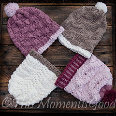 Ravelry  Knit and Purl Hat Collection I - patterns 70d128ba98e