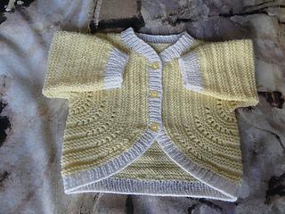 3434f2ee1 Ravelry  Yvette s Garter Stitch Baby Sweater pattern by Yvette O Brien