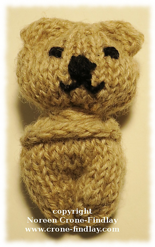 Ravelry Comfort Bear Pattern By Noreen Crone Findlay