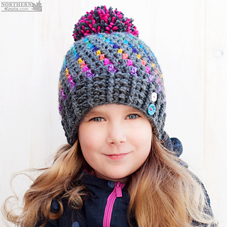 ca47e7528b7 Ravelry  Northern Lights Beanie pattern by Northern Knots - Amanda Foster