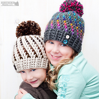 a5e6a186940 Ravelry  Northern Lights Beanie pattern by Northern Knots - Amanda ...