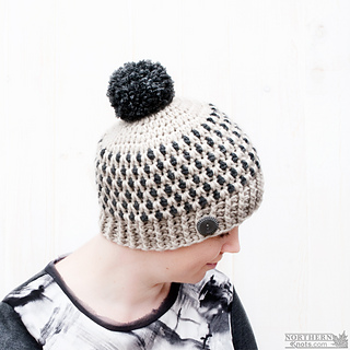 Ravelry  Speckled Ridge Beanie Adult pattern by Northern Knots - Amanda  Foster baf9978d789