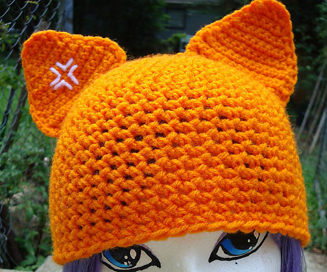 c91330d0551 patterns   NyanPon s Knits and Crochet.   Anime Cat Hat
