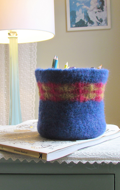 Ravelry Crochet Felted Bowl Pattern By Over The Rainbow Yarn Designs