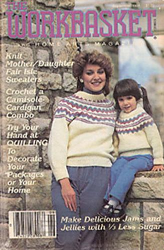 Ravelry Workbasket Magazine Vol 49 No 10 September 1984 Patterns