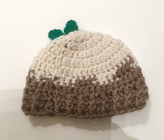 Ravelry  Christmas Pudding Baby Hat pattern by Ok Then What s Next bb30478852e7