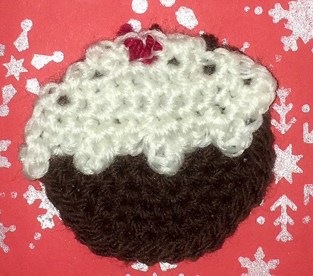 Ravelry Christmas Pudding Tree Applique Pattern By Ok Then Whats