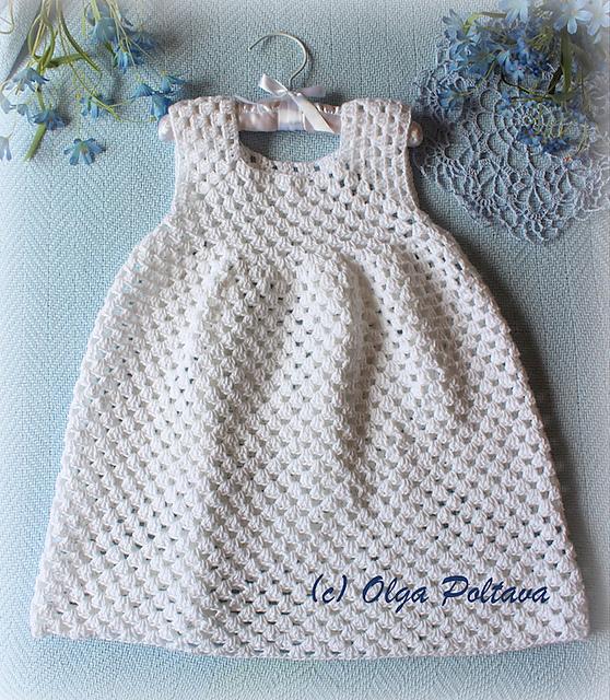 Ravelry: Simple Granny Stitch Dress pattern by Olga Poltava