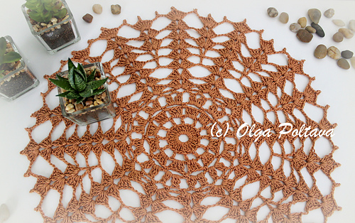 Ravelry Simple Beginners Doily Pattern By Olga Poltava