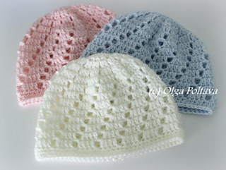 6a5c6782a Ravelry  Swirl Baby Beanie pattern by Olga Poltava