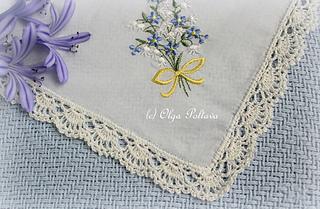 Ravelry Handkerchief Lace Edging Pattern By Olga Poltava