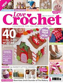 Ravelry Love Crochet Issue 6 Winter 2013 Patterns