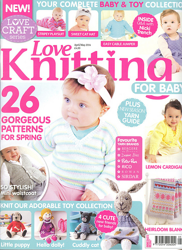 Knitting For Babies Magazine : Ravelry love knitting for baby april may patterns