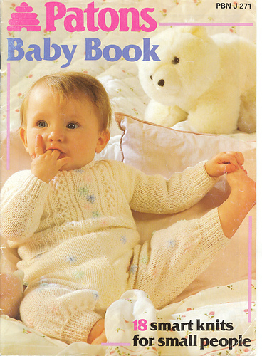 Ravelry Patons 271 Baby Book 18 Smart Knits For Small People