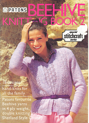 Ravelry Patons 230 Beehive Knitting Book 2 Patterns