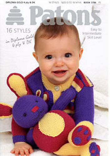 Ravelry Patons 3786 Colourful Baby Knits And Toys To Match Patterns