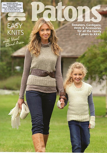 Ravelry Patons 3737 Easy Knits With Wool Blend Aran Patterns