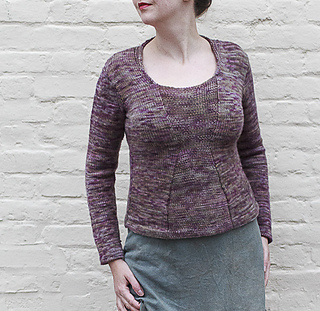 Ravelry  Corset Pullover pattern by Shauna Shiff 7340c5f3fe34