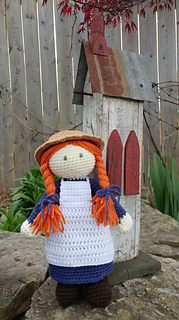Ravelry anne of green gables pattern by out of the hope chest for Anne of green gables crafts