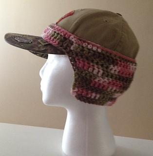 Ravelry  Baseball Cap Hat Ear Warmer pattern by Pamela Bastian 4e36cad8f10