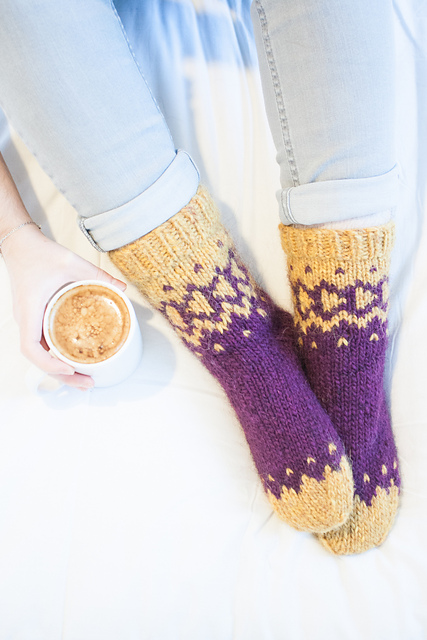 Indie Design Gift Along 2018 Sock Patterns 6