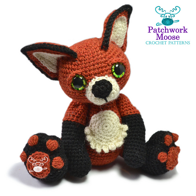 Indie Design Gift Along 2018 Toys Fox to crochet