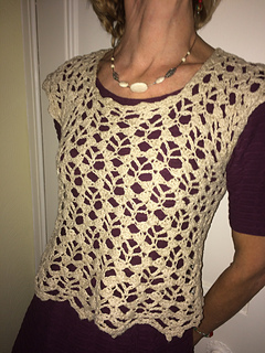 fecd5f85f7cca Ravelry  Au Naturel Cropped Top pattern by Mary Jane Hall