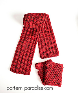 Free_crochet_pattern_simple_scarf_and_gloves_set_2_small2