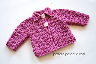 e554bb631 Ravelry  Snuggly Raglan Cardigan pattern by Maria Bittner