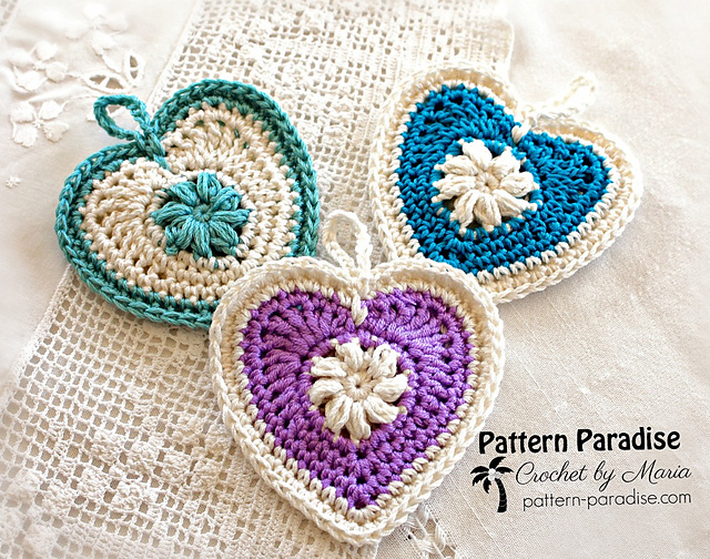 Ravelry Sachets Of Love 14 131 Pattern By Maria Bittner