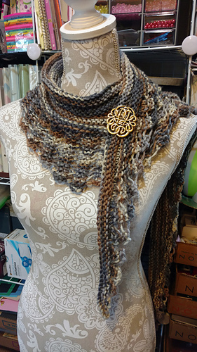 Knitting Pattern For Gallatin Scarf : Ravelry: Gallatin Scarf pattern by Kris Basta ...