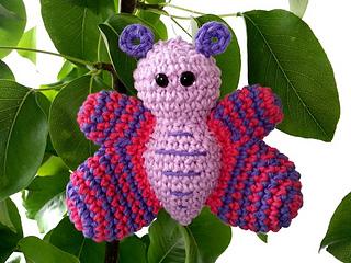 Ravelry: Butterfly amigurumi pattern by Tinneke Grauwels