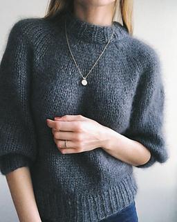 de57288f97 Ravelry  Saturday Night Sweater pattern by PetiteKnit