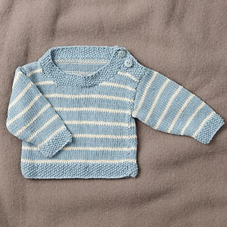 4b32649dd320 Ravelry  Bamboo Blend Striped Baby Jumper pattern by Spotlight