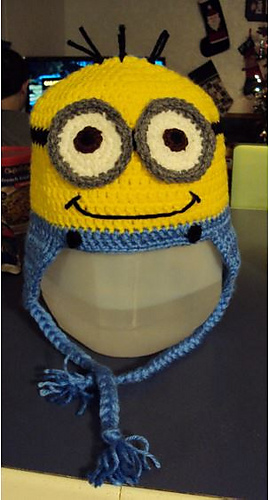 Ravelry Minion Inspired Hat Pattern By Kelly N Sholunas