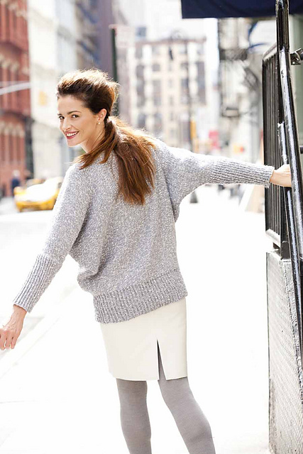Ravelry: #17 Batwing Pullover pattern by Christy Kay Morse