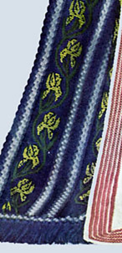 Ravelry Fleur De Lis Afghan 5201 Pattern By American Thread Company