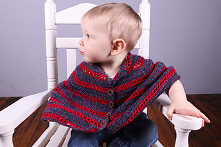 3015 Toddler & Kid's Poncho pattern by Sue Hilger