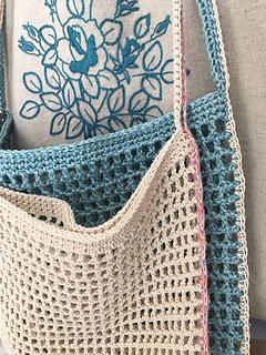 Ravelry Net Cross Body Bag Pattern By Poo Leum Jin