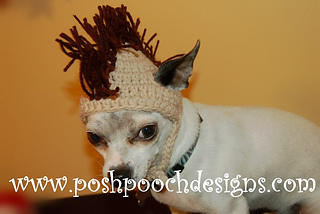 Ravelry  Mohawk Dog Hat 3 sizes pattern by Sara Sach 97be53eb5ad4