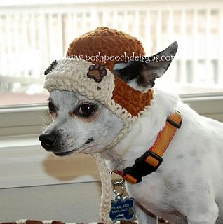 Ravelry Aviator Dog Hat Bomber Dog Hat Pattern By Sara Sach
