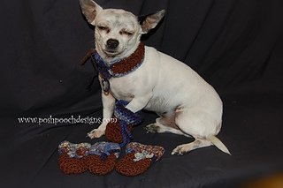 Ravelry dog booties booties for small dogs pattern by sara sach sara sach dt1010fo