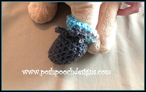 Ravelry: Dog Booties - Booties For Small Dogs pattern by Sara Sach