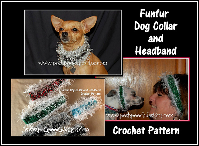 Ravelry Fufur Dog Collar And Headband Pattern By Sara Sach