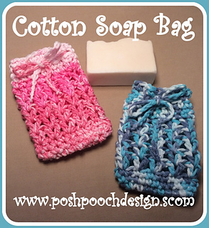 Ravelry Cotton Soap Bag Pattern By Sara Sach