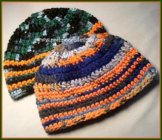 Ravelry  Camo and Orange Hunting Beanie pattern by Sara Sach 1b5a0855e98