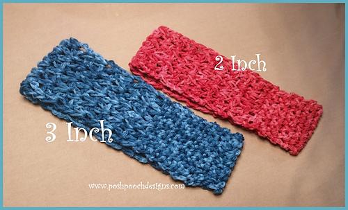 Sweatband/ Headband pattern by Sara Sach