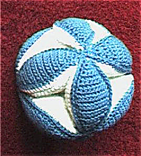Ravelry Baby Grab Ball Pattern By Priscilla Hewitt